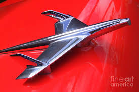 1956 chevy ornament photograph by deal