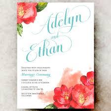floral wedding invitations floral wedding invitation country chic wedding invitation