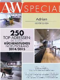 architektur und wohnen mehrfach ausgezeichnet unser küchenstudio in aschaffenburg