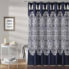 boho patch shower curtain lush decor www lushdecor com