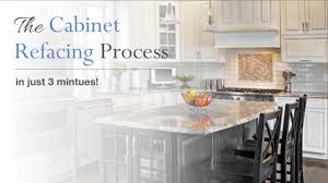 Youtube Refacing Kitchen Cabinets by Cabinet Refacing In Just 3 Minutes Kitchen Magic Youtube