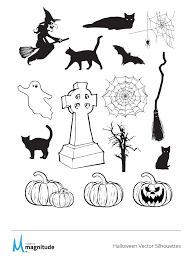 halloween freebie free vector silhouette pack resources