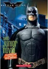 batman begins the junior novel by peter lerangis scholastic