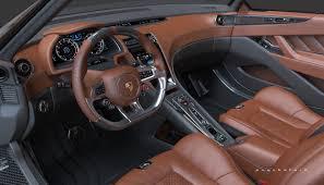 porsche cars interior 913 spyder concept