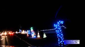 san jose christmas lights fantasy of lights at vasona park los gatos ca december 2013 youtube