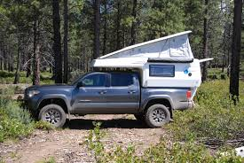 pop up cer toyota tacoma earthcruiser announces gzl pop up truck cer truck cer