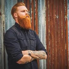 best haircuts for ginger men choosing the perfect hairstyle and beard combination