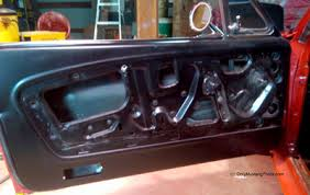 Interior Door Panel Repair Mustang Interior Restoration How To Information
