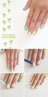 best 25 lemon nails ideas on pinterest cute summer nails cute