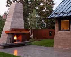 Backyard Fireplace Plans by Decorating Ideas Contemporary Patio With Beautiful Masonry