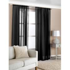 108 Inch Black And White Curtains Home Decor Drapes