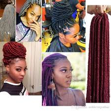 pictures of soft dred crotchet hairstyles soft dread locks synthetic dreadlock braiding hair crochet twist