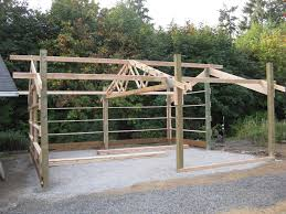 Truss Spacing Pole Barn Columbia Steel Construction Inc Our Buildings Pole Buildings