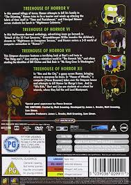 Treehouse Of Horror Online Free - amazon com the simpsons treehouse of horror region 2 dan