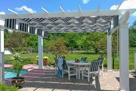 Retractable Shade Pergola by How To Get The Most Shade From Your Pergola