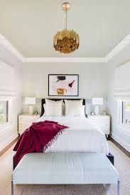alyssa rosenheck black headboard with white 3 drawer nightstands