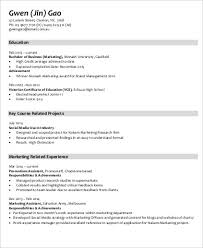 Marketing Achievements Resume Examples by Sample Marketing Skills Resume 8 Examples In Word Pdf
