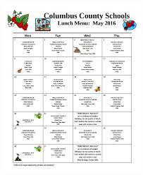 lunch menu template free sle lunch menu template