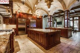 teak wood kitchen cabinets teak wood kitchen cabinet with large island on aliexpress com