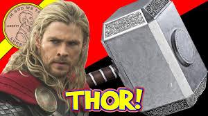 thor ragnarok hammer mjolnir movie full scale hammer youtube
