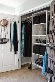 duo ventures guest bedroom closet organizer install