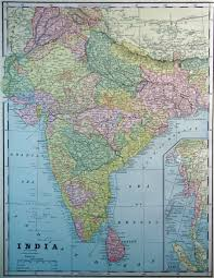 Maps Of India by Map Of India 1893