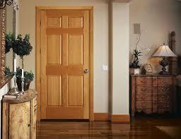 rich natural oak interior doors wearefound home design