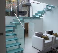 exquisite glass staircase designs for small space home