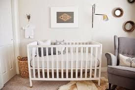 french style baby nursery with french style furniture and dark