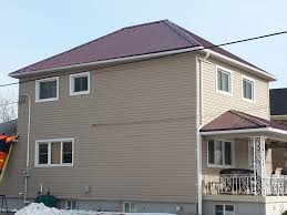 Burgundy Metal Roof Pictures by Summit Colors Metal Roofs Niagara