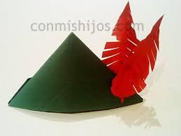 como hacer un sombrero de robin hood en fieltro de robin hood manualidades de disfraces para niños