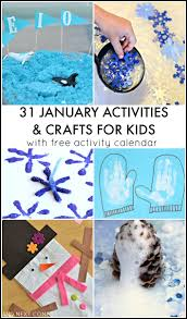 31 january activities for kids free activity calendar and next