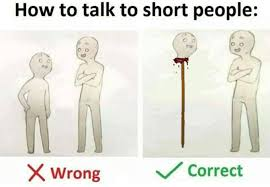How To Meme - 22 how to talk to short people memes