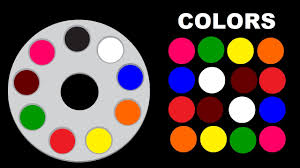 colors for children to learn with colors palette colours for