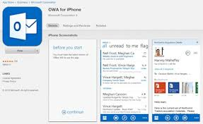 outlook web app android microsoft takes outlook web app on iphone distilnfo it