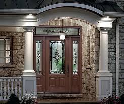 Patio Door Sidelights Exterior Door With Sidelights Active Sidelight Single Wrought Iron
