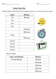 converting units of time by yarwood10 teaching resources tes