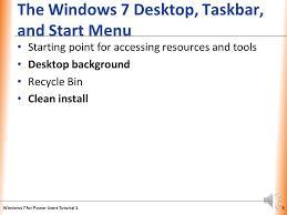 tutorial xp windows xp windows 7 desktop windows 7 for power users tutorial ppt download