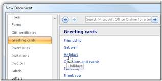 make your last minute cards with microsoft word