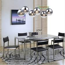 modern dining room pendant lighting dining table light fixtures