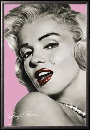 amazon com marilyn monroe lips 24x36 art print poster