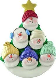 personalized snowman family ornament must make one of these