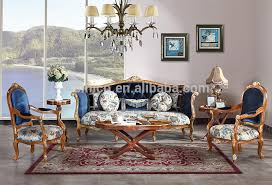 retro living room furniture sets vintage wood carving sofa set with single chair replica palace