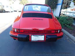 lexus san diego serving carlsbad 1985 used porsche 911 carrera coupe m t 49k miles at schmitt