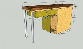 plan table de cuisine plan table de cuisine meuble de cuisine table maison et mobilier