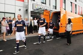 vauxhall luton vauxhall movano becomes luton town football club u0027s new changing room