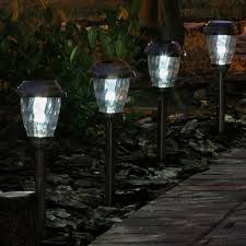 solar lights smart solar charleston 6 pack solar lights hayneedle