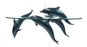 dolphin table with glass top dolphin coffee tables glass top coffee tables and end tables for