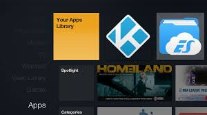 amazon black friday fire sticks sideloaded apps like kodi can now be launched from the fire tv