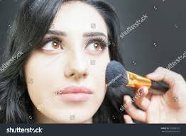beautiful woman arab appearance beauty salon stock photo 295588715